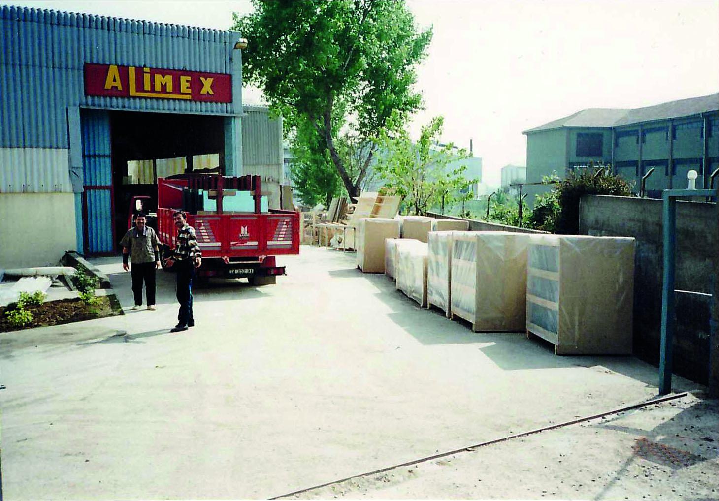 İlk fabrika yerleşimi Kartal